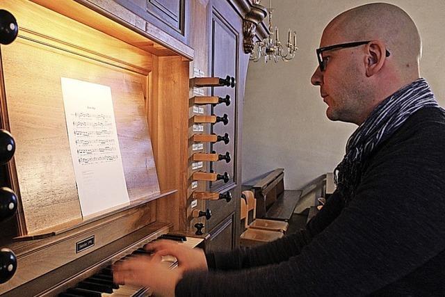 Närrische Orgelmusik in der Kirche