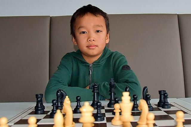 Der Neunjährige Vito Yin zählt zu den besten Schachspielern seiner Altersgruppe
