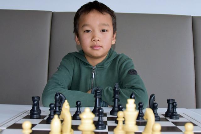 Neunjähriger zählt zu den besten Schachspielern seiner Altersgruppe