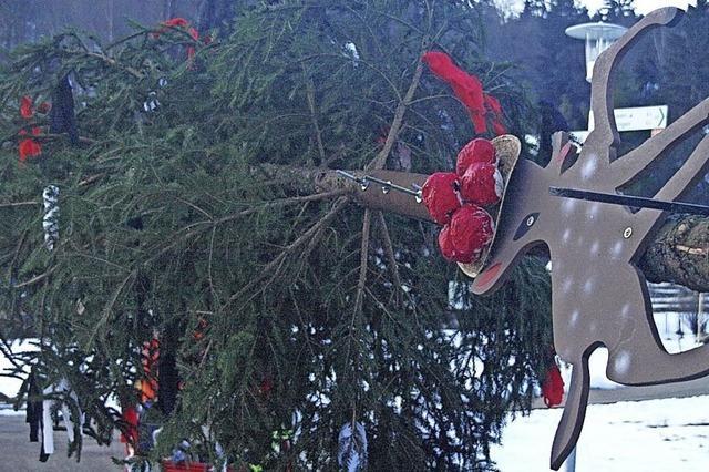 Der Narrenbaum steht