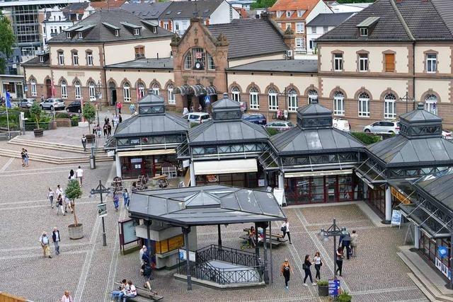 Der Lörracher Bahnhofsplatz erhält ein neues Gesicht