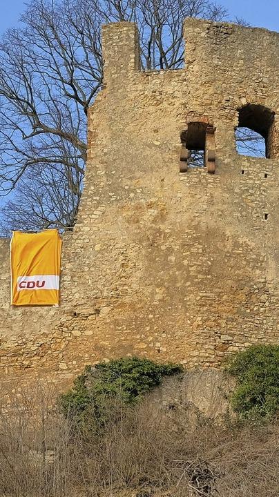 Burgfrieden für einen Tag:  CDU-Matinee auf der Ruine Lichteneck  | Foto: Maik Uhlig