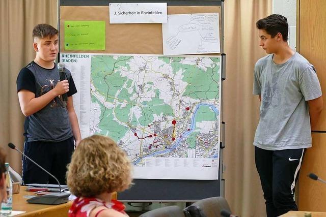 Die Stadt prüft die Projektideen des Rheinfelder Achterrats