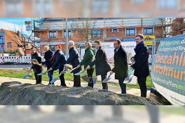 Bauverein Breisgau investiert 13 Millionen Euro in neue Ortsmitte in Schallstadt