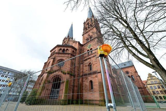 Freiburger Johanneskirche wurde wegen loser Ziegel gesperrt