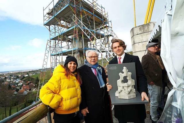 In den Fessenbacher Reben entsteht ein Burda-Denkmal