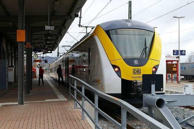 Breisgau-S-Bahn fährt ohne große Verspätungen nach Breisach und Endingen