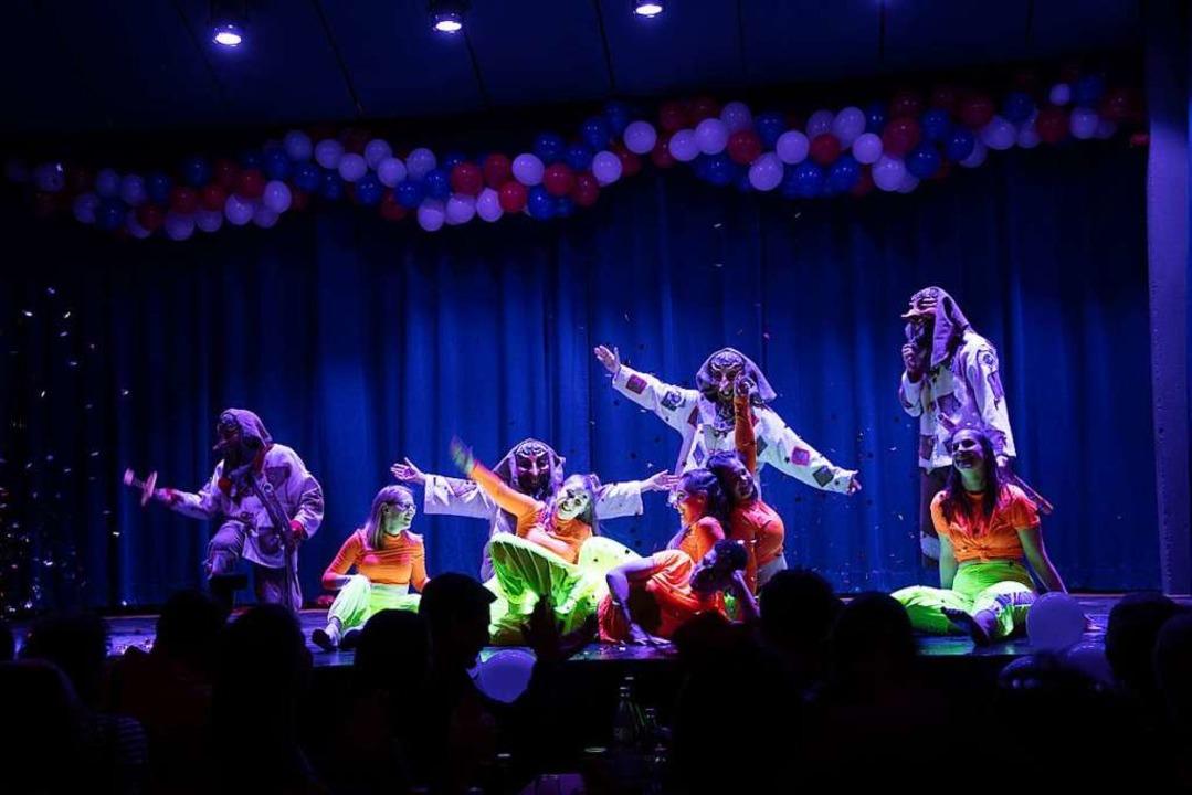 Gelungener Tanz: die Heidemännle begeisterten  | Foto: Volker Münch