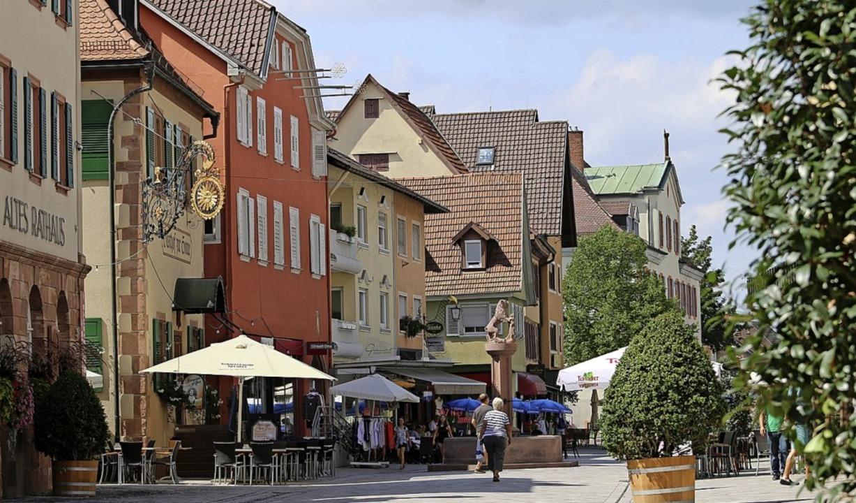 Die Fußgängerzone in Oberkirch   | Foto: Ulrich Reich