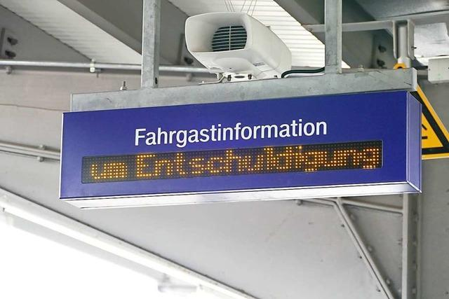 Die Höllentalbahn ist ab Sonntag wieder befahrbar