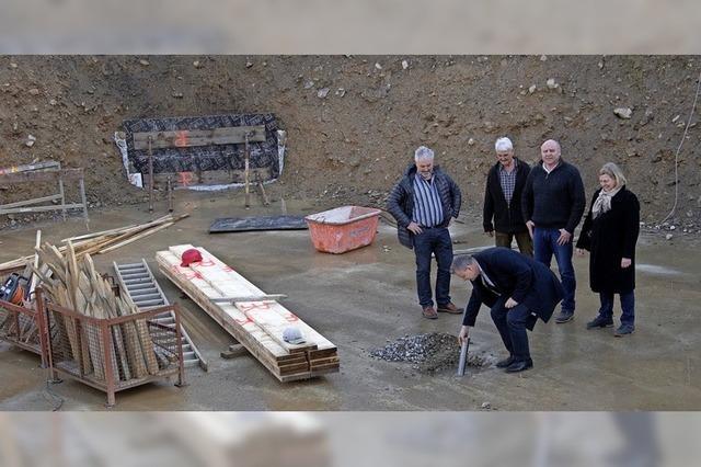 Bau des Hauses für soziales Wohnen geht voran