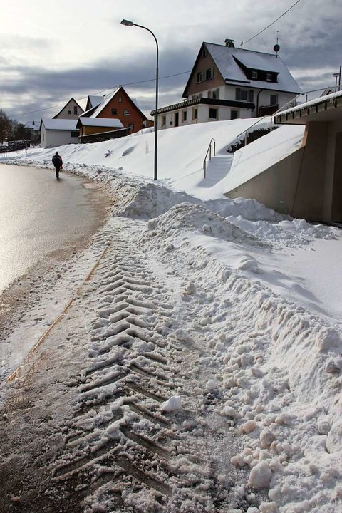 Ein Gemeinderatsbeschluss zur Räum- un...atte offenbar zu Anfeindungen geführt.  | Foto: Gert Brichta