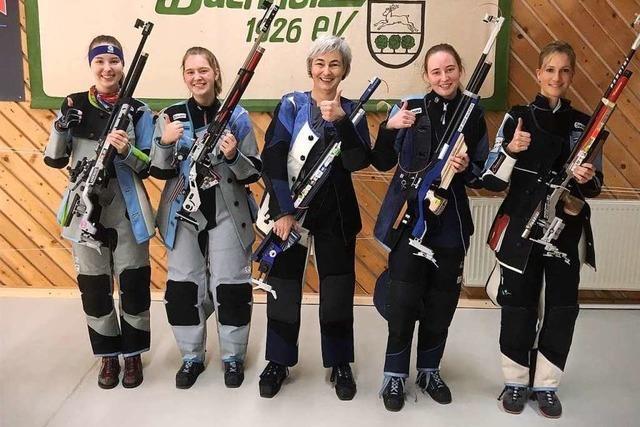 Frauen-Power am Luftgewehr beim KKSV Heitersheim