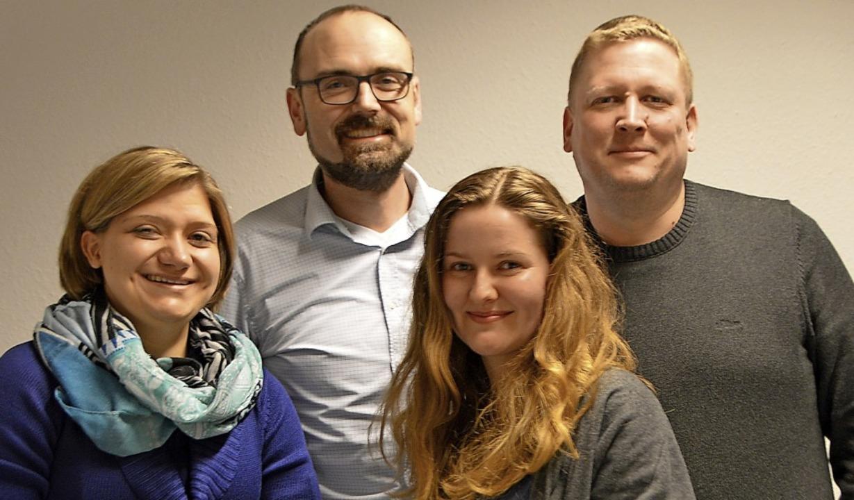 Simone Zimmermann, Matthias Wößner, An...ann und Stefan Eckenstein (von links)   | Foto: Horatio Gollin