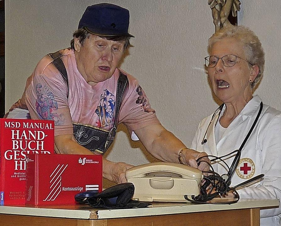 Verwirrung: Mit dem Arzt-Telefon stimmt etwas nicht.     Foto: Monika Hofmeier
