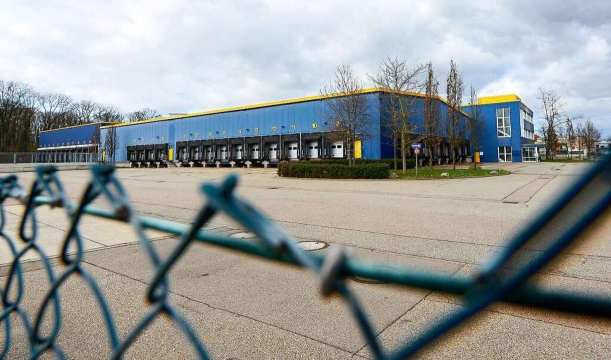 In die Ex-Dachser-Räume wird Amazon einziehen.  | Foto: Ingo Schneider