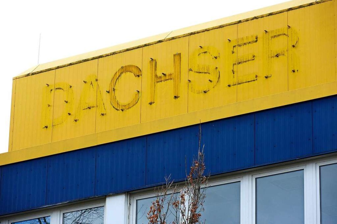 Logistik-Unternehmen Dachser im Gewerb...Hier plant Amazon ein Umschlagzentrum.  | Foto: Ingo Schneider