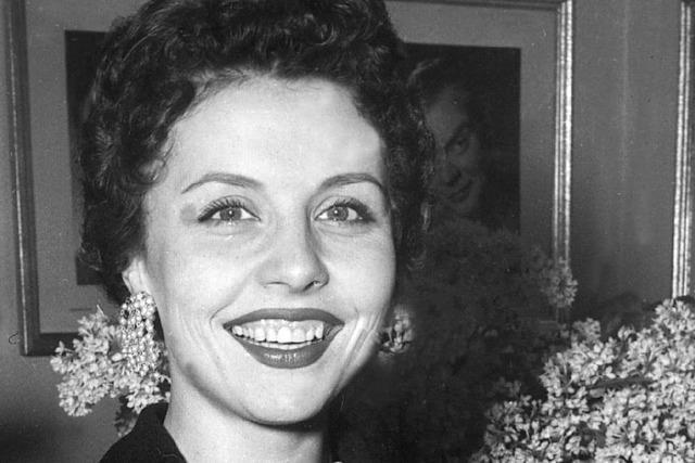 Schwarzwaldmädel-Star Sonja Ziemann ist tot