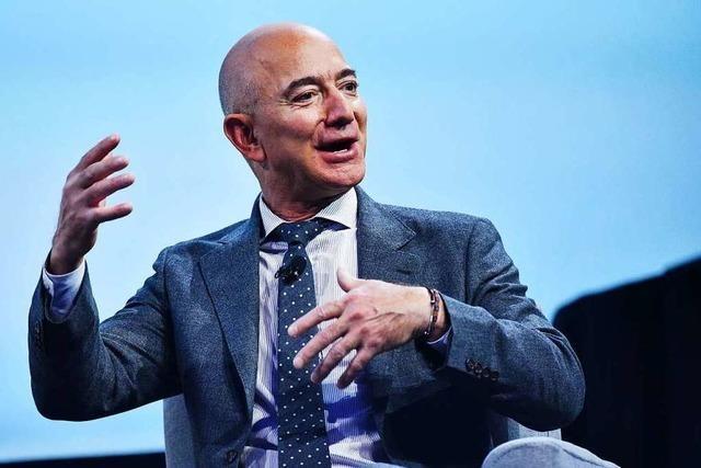 Jeff Bezos tritt mit seiner Klimaschutzspende die Flucht nach vorn an