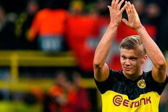 Haaland-Show und große Emotionen in Dortmund