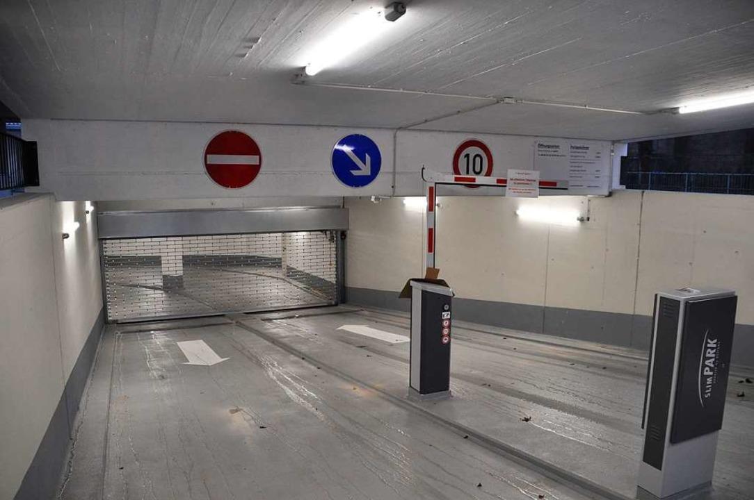 Die Rolltore bleiben vorerst zu.  | Foto: Nicolai Kapitz