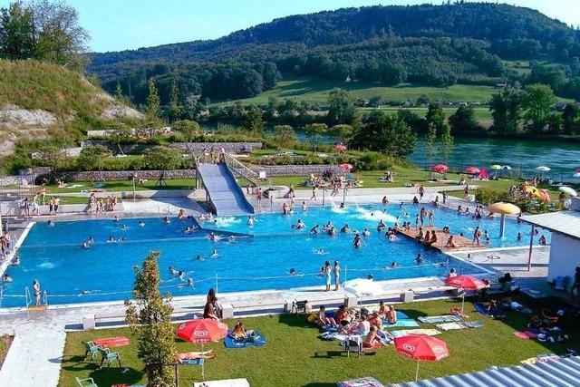 Mehrheit für höhere Preise im Gartenstrandbad Laufenburg