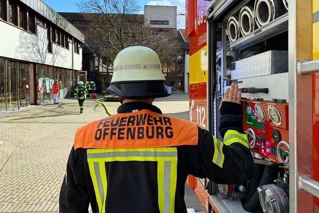 Feuerwehr rückt wegen Gasalarms im