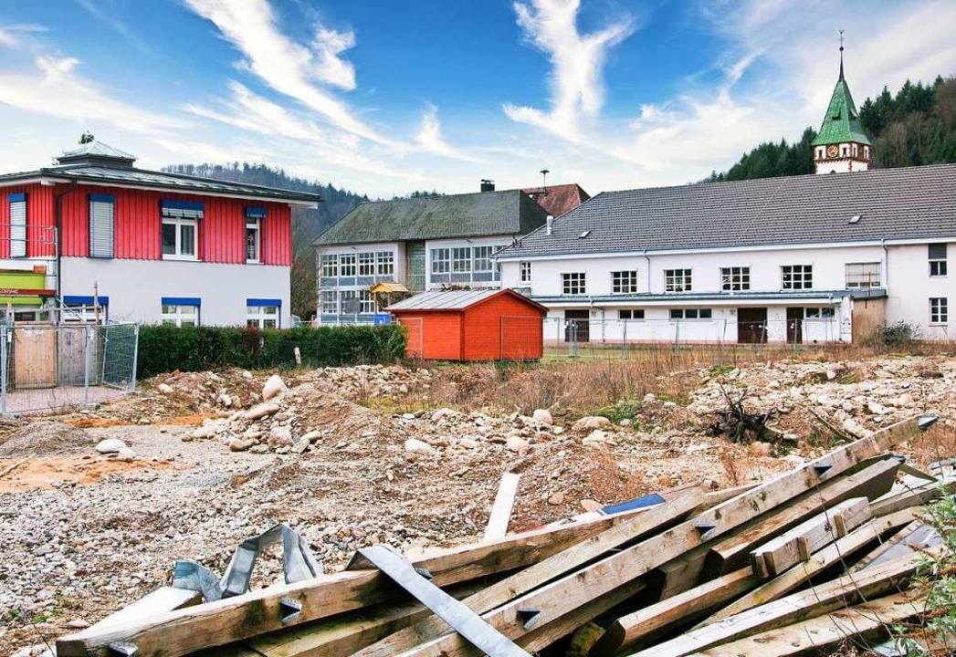 Dem Bauantrag für das Pflegeheim in der Ortsmitte wurde zugestimmt.    Foto: Paul Eischet