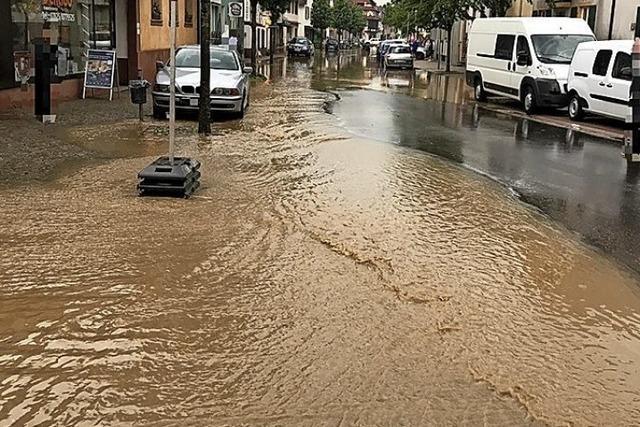 Ein Konzept gegen das Hochwasser
