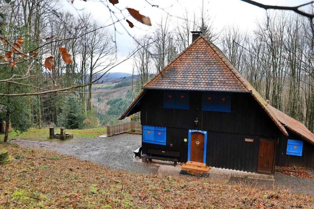 Die Lahrer Hütte auf dem Geisberg.  | Foto: Christoph Breithaupt