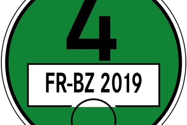 Über 5000 Plakettensünder wurden 2019 in Freiburgs Umweltzone geahndet