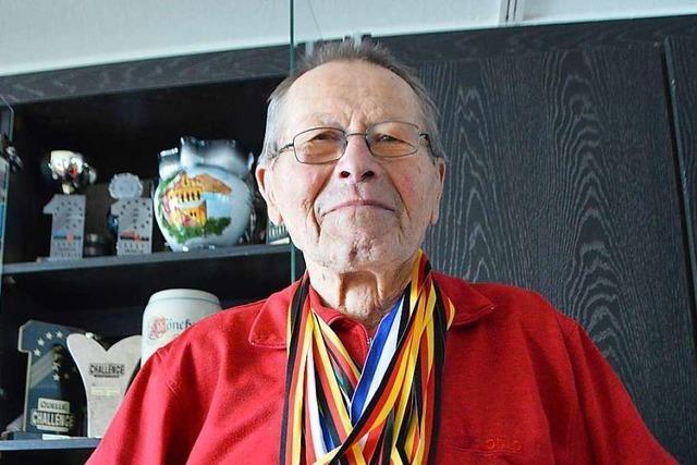 Der Rheinfelder Iron Man wird 90 Jahre alt