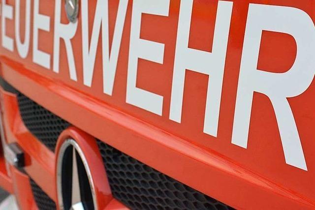 Kabelbrand war wohl Ursache des Feuers im früheren Sägewerk in Malsburg-Marzell