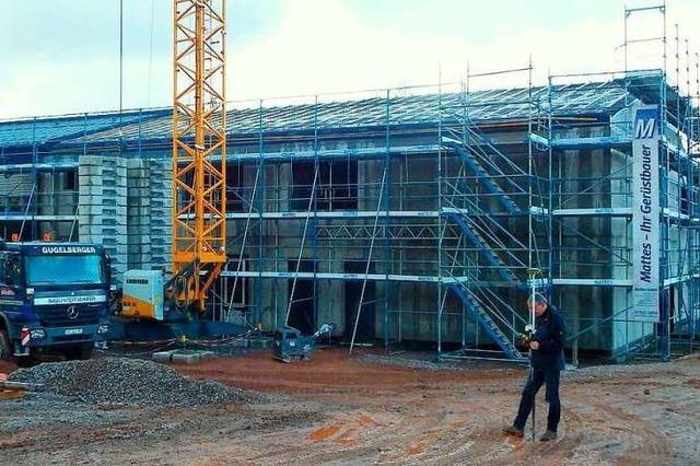 Fertigstellung der Rickenbacher Schule verzögert sich