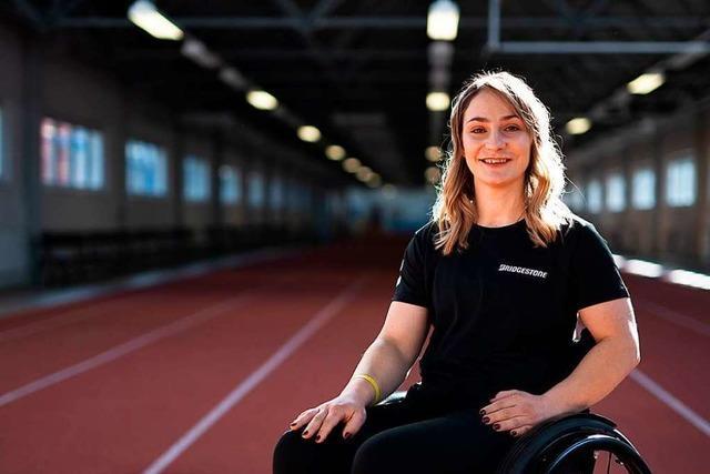 Die querschnittsgelähmte Bahnradfahrerin Kristina Vogel ist eine Kämpferin