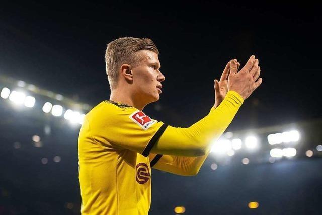 Ist Erling Haaland der neue Superstar im Fußball, Herr Streich?