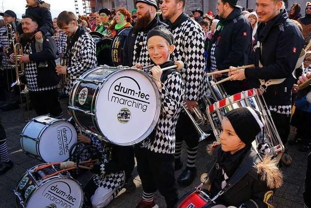 Fotos: Rathausstürmungen in Breisach und Vogtsburg