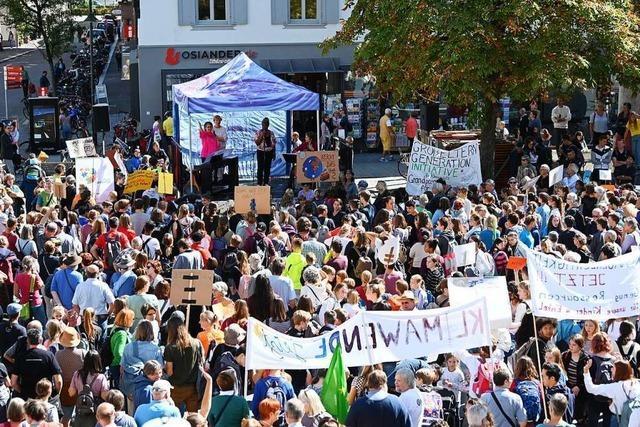 Fridays-for-Future steckt in Lörrach in einer Zwickmühle