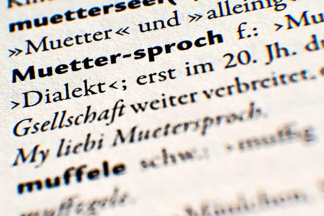 Alemannisches Wörterbuch  | Foto: Tobias Kleinschmidt