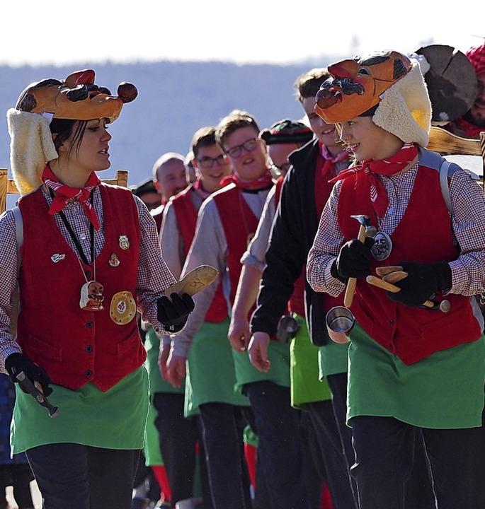 Die Schlappenflickerzunft Breitnau feiert ihr 44-jähriges Bestehen.  | Foto: Susanne Gilg