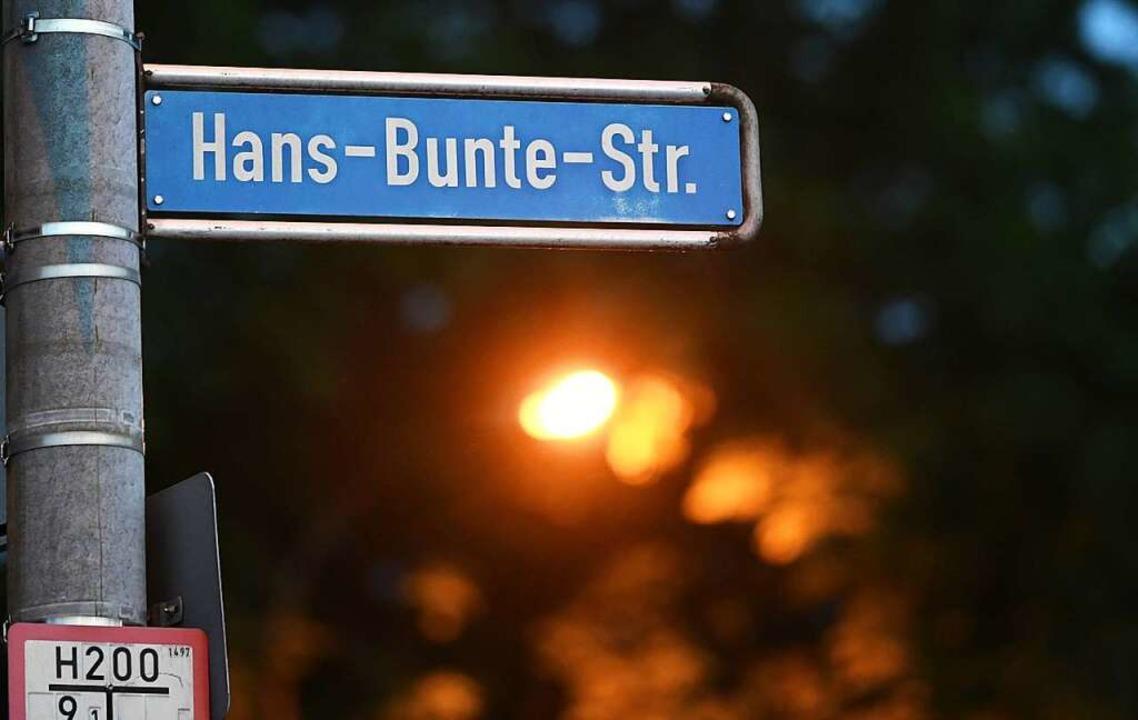 Die Straße in Freiburg hat mittlerweil...landweit traurige Berühmtheit erlangt.  | Foto: Patrick Seeger (dpa)