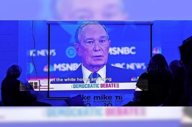 Jeder gegen jeden – und alle gegen Mike Bloomberg