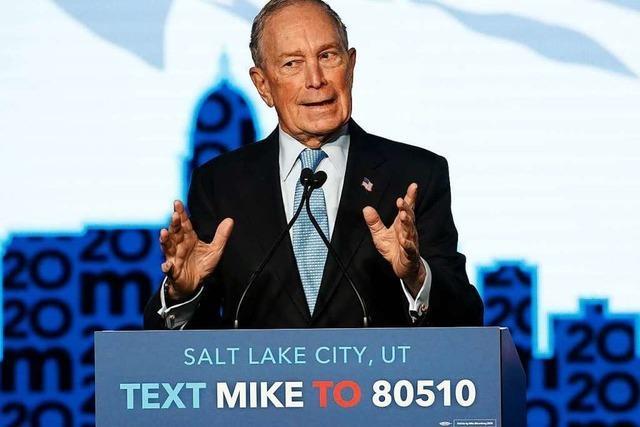Wird Mike Bloomberg es hinbekommen?