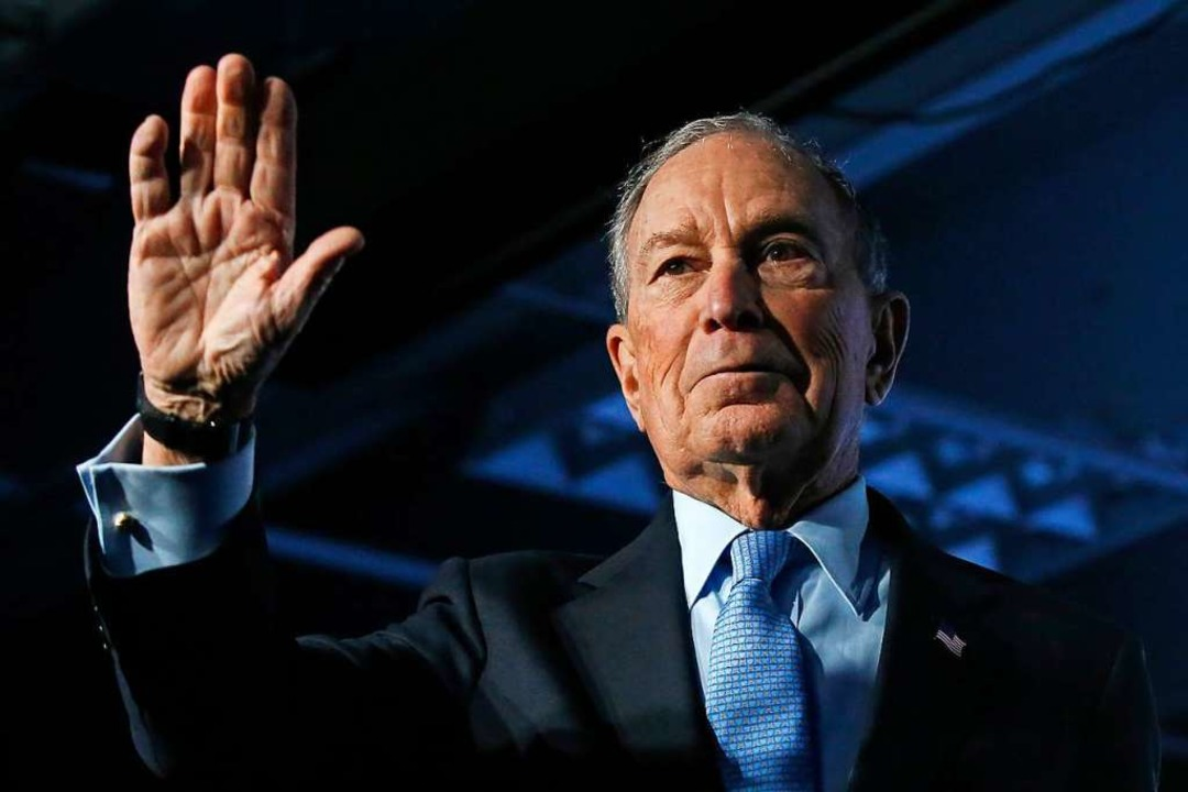 Mike Bloomberg.  | Foto: Rick Bowmer (dpa)