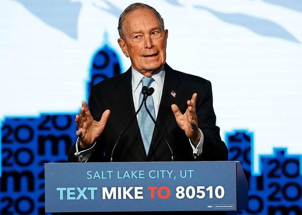 Mike Bloomberg  | Foto: GEORGE FREY (AFP)