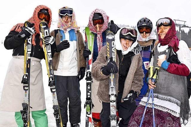 Hexen-Contest im Skigebiet Feldberg