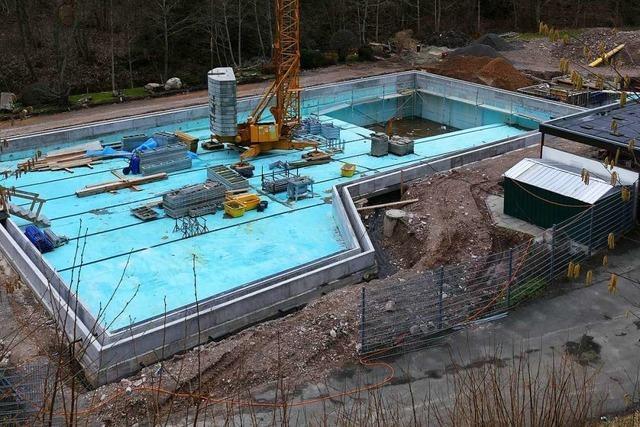 Das Kinderbecken des Lenzkircher Freibads wird aufgepeppt