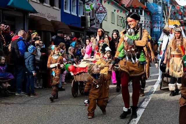 Fotos: Kinderschuttigumzug in Elzach