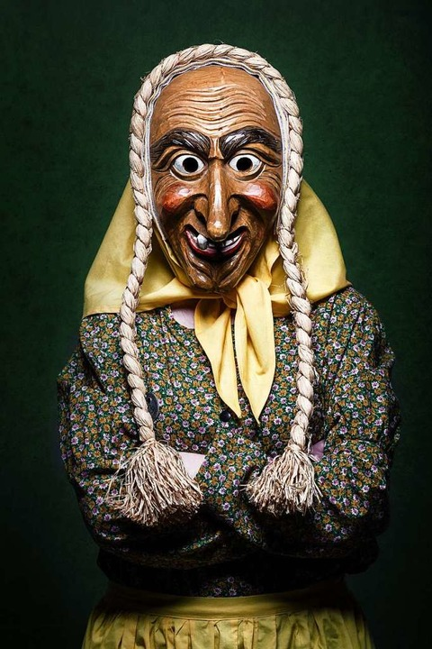 Eine Hexe der Originelle Münstertäler Votzelzunft  | Foto: Felix Schelb