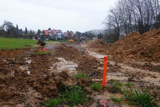 Die Baukosten im Baugebiet Brunnacker in Merzhausen steigen